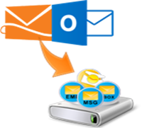 how to backup hotmail account